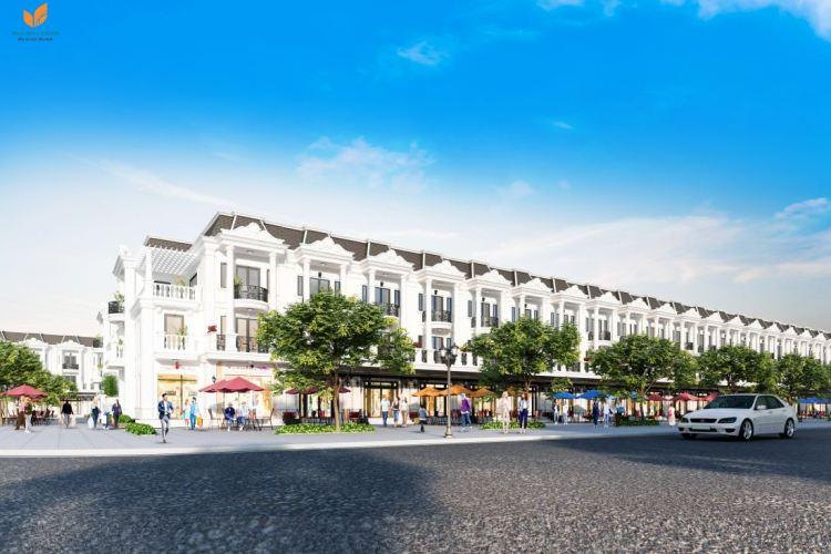 Nhà phố liền kềkhu đô thị Phúc Hưng Golden Bình Phước
