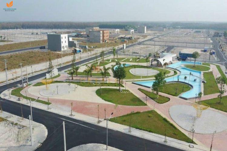 Tiến độ thi công khu đô thị Phúc Hưng Golden City tháng 4/2021