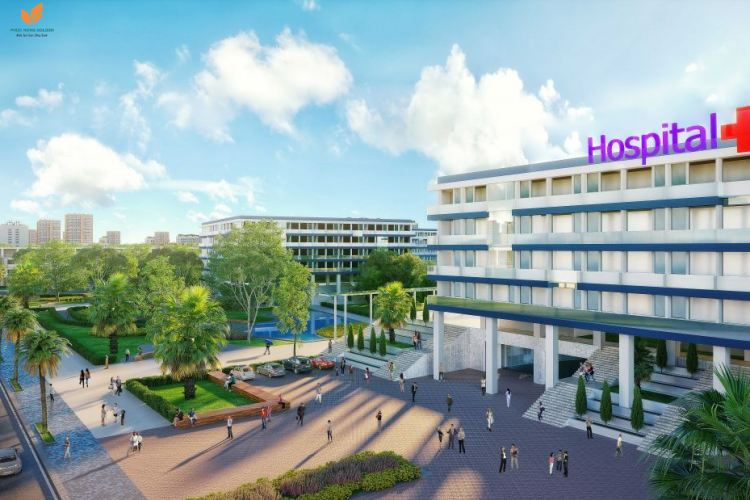 Bệnh việnnội khu dự án Khu đô thị Phúc Hưng Golden City