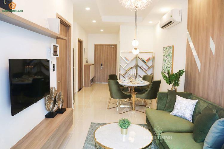 Thiết kế phòng kháchkhu đô thị Richmond Quy Nhơn