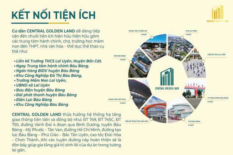 Tiện ích Central Golden Land
