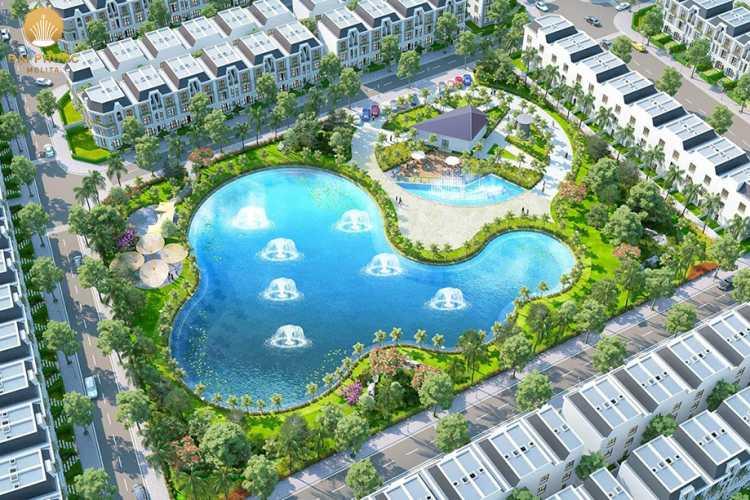 Hồ nước nội khu dự ánĐại Phước Molita