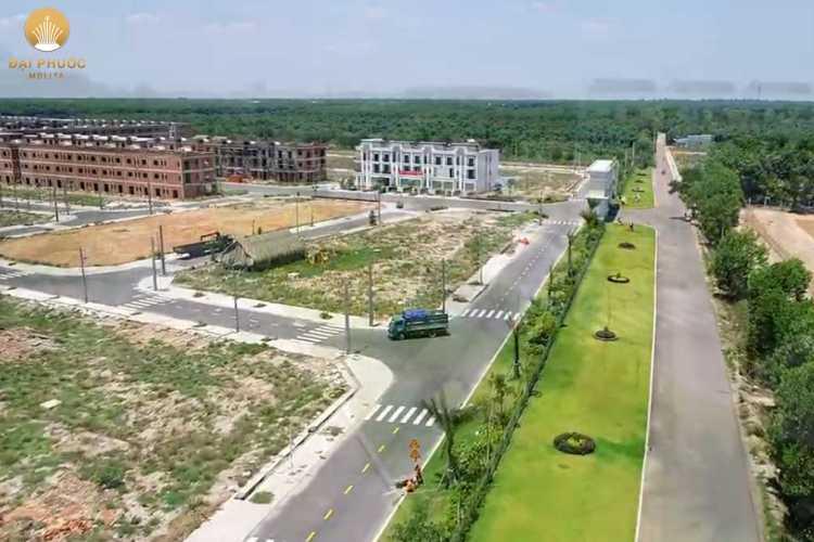 Tiến độ dự án Đại Phước Molita 6/2021