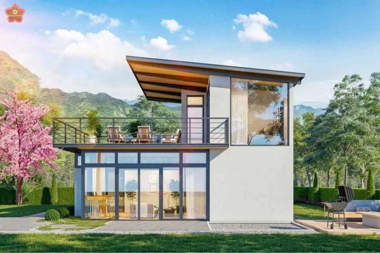 Thiết kế mẫu biệt thựdự án Sakura Garden Bảo Lộc