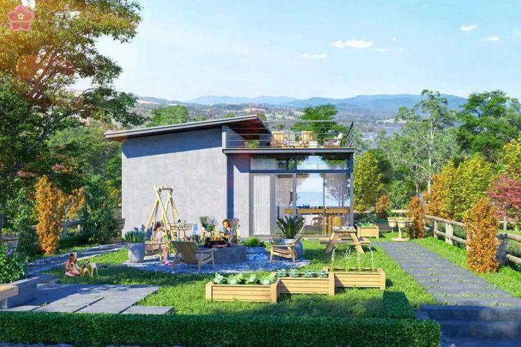 """Không gian sốngđúng chất """"Garden"""" với các khu vườn xung quanh nơi ở"""