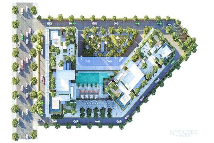 Mặt bằng tổng thể dự án Asiana Riverside Quận 7