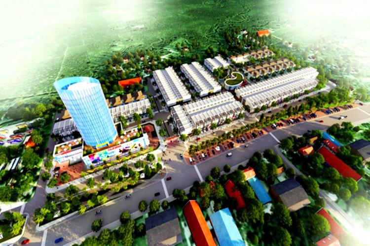 Phối cảnh dự án Ruby City Bảo Lộc