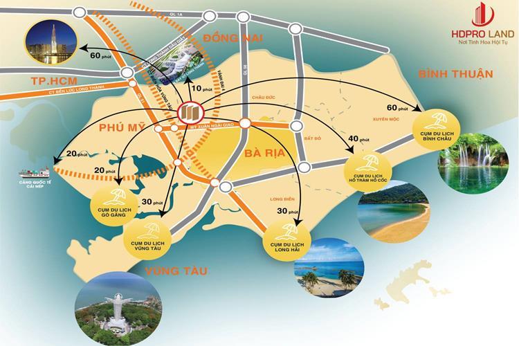 Vị trí Phú Mỹ Future City