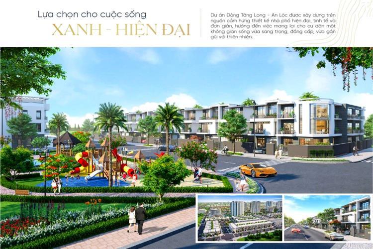 Công viên dự án khu đô thị Đông Tăng Long Quận 9