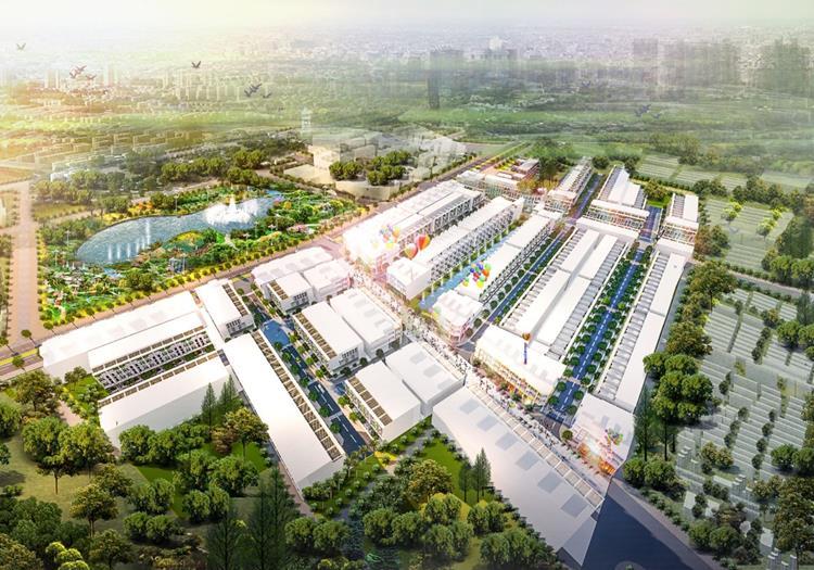 Phối cảnh dự án đất nền Phú Mỹ Port City 1