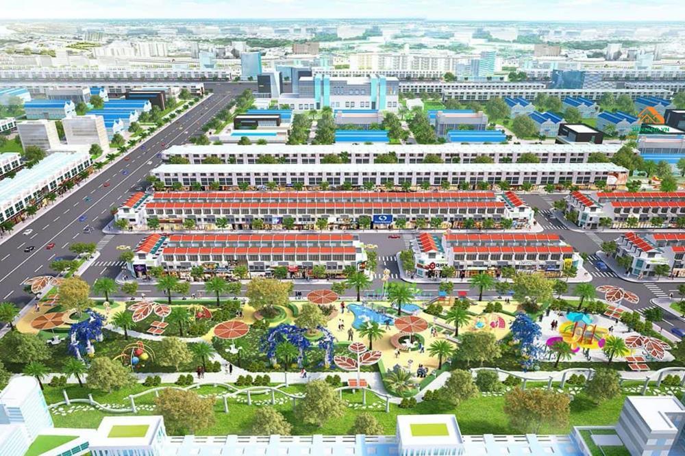 Phối cảnh dự án Richland Residence Thủ Dầu Một