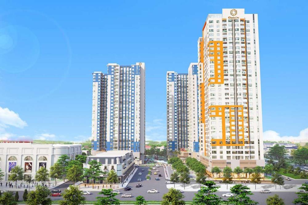 Tổng thể dự án Charm City Tân Uyên Bình Dương