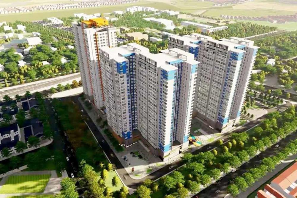Charm City tọa lạc tại vị trí trung tâm Tân Uyên