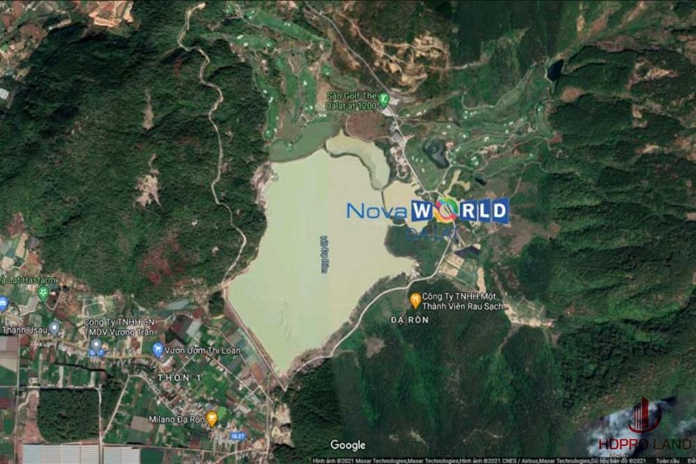 Vị trí của dự án Novaworld Đà Lạt