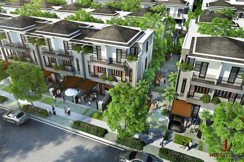 Phối cảnh tại nhà phố biệt thự  dự án Novaworld Đà Lạt
