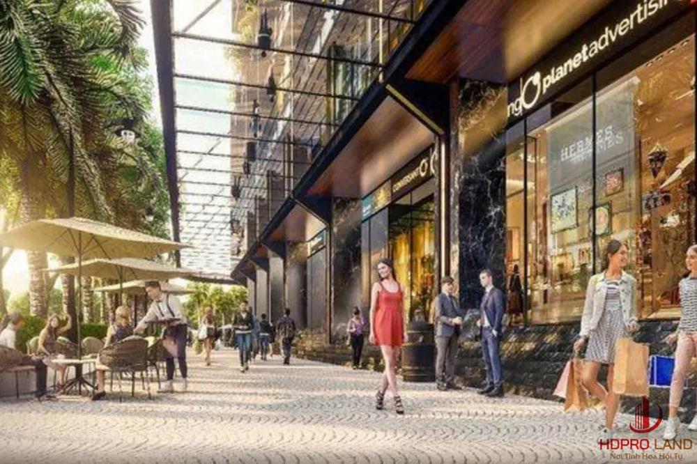 Trung tâm thương mại dự án Elite Life