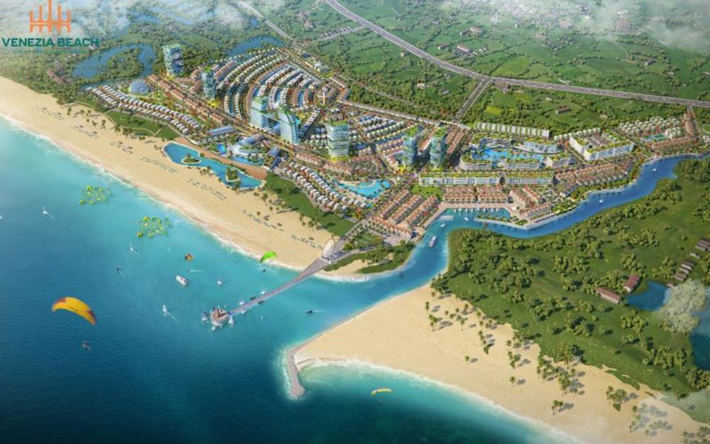 Tổng quan dự án nghĩ dưỡng Venezia Beach Bình Châu