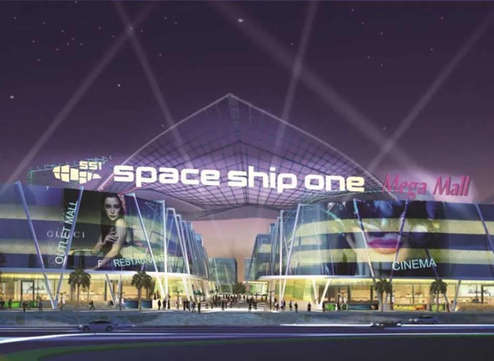 Phối cảnh khu căn hộDiyas SS1 Space Ship One