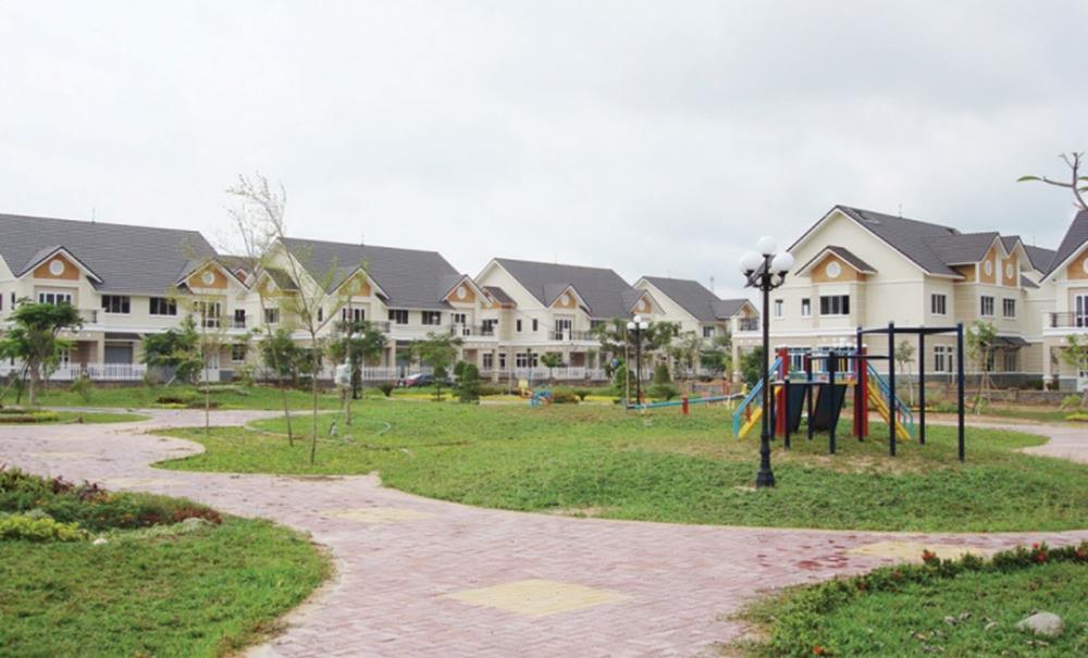 Khuôn viên nội khu đô thị Hud Nhơn Trạch Đồng Nai
