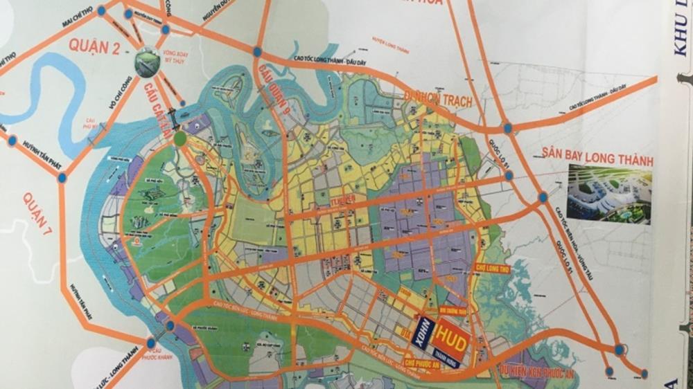 Vị trí khu dân cư Hud Nhơn Trạch - Đồng Nai