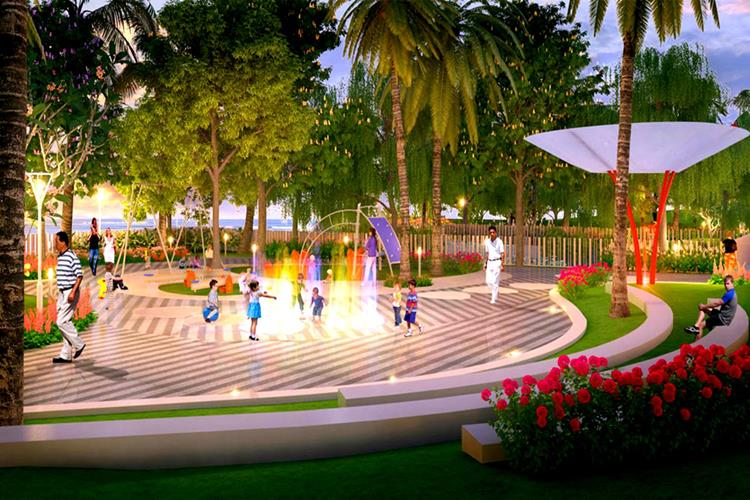Phối cảnh công viên của khu dân cư Bình Sơn