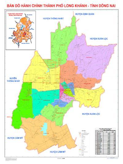 Cập nhật thông tin quy hoạch thành phố Long Khánh