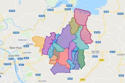 Cập nhật mới nhất thông tin quy hoạch huyện Trảng Bom
