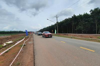 Tiến độ tuyến đường tạo lực Bắc Tân Uyên - Phú Giáo - Bàu Bàng.