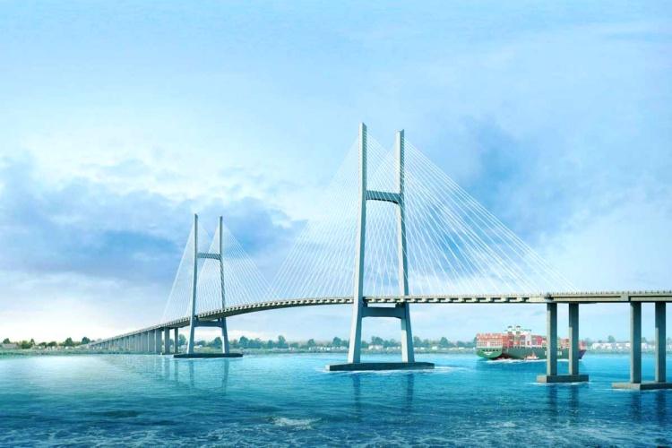 Hình ảnh mô phỏng Cầu Phú Định Quận 8