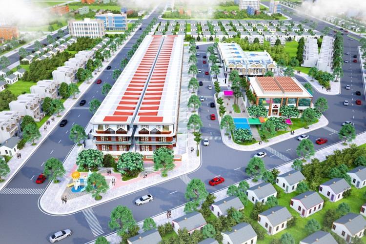 Dự án đất nền Lavender Central Mall Bàu Bàng - Bình Dương